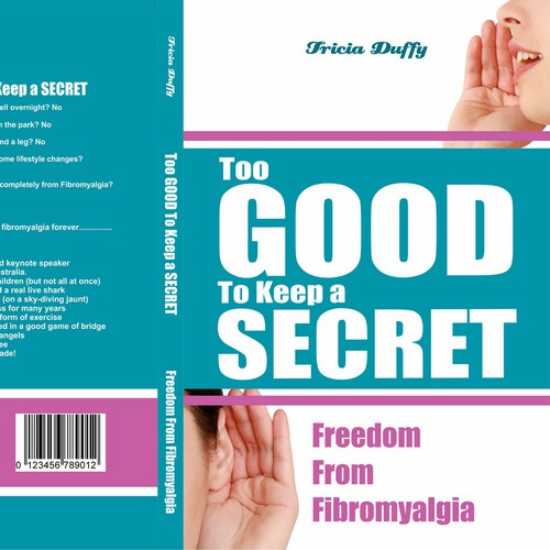 book cover too good to keep a secret