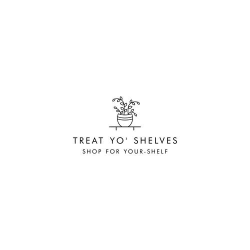 Logo Concept for Treat Yo' Shelves