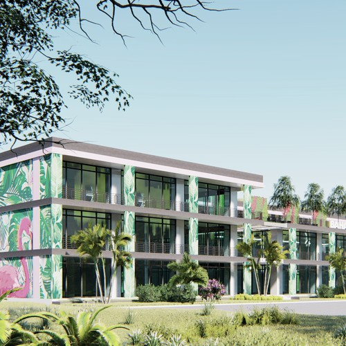 Design contemporary Building