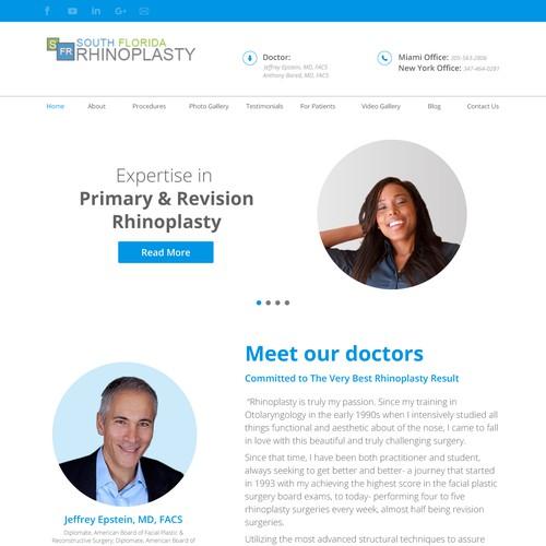 Web Redesign for Rhinolapsy Practice