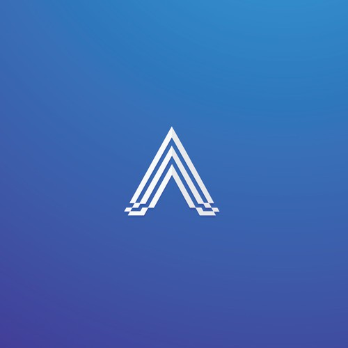 simple, elegant and sophisticated logo design for AAA