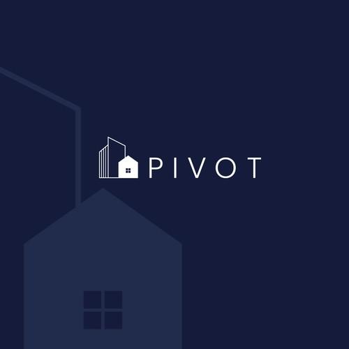 "Logo Design for Property Management Company ""Pivot"""