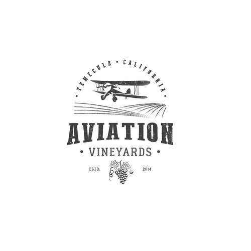 Logo for wine company