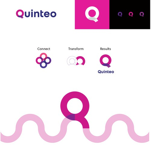 Logo and brand guidelines for Quinteo
