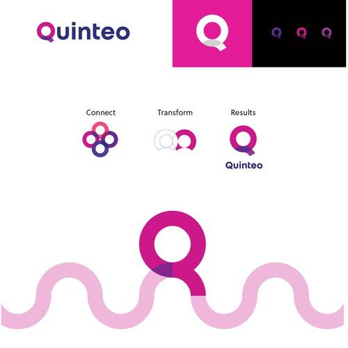 """Quinteo的标志和品牌指南""""title="""