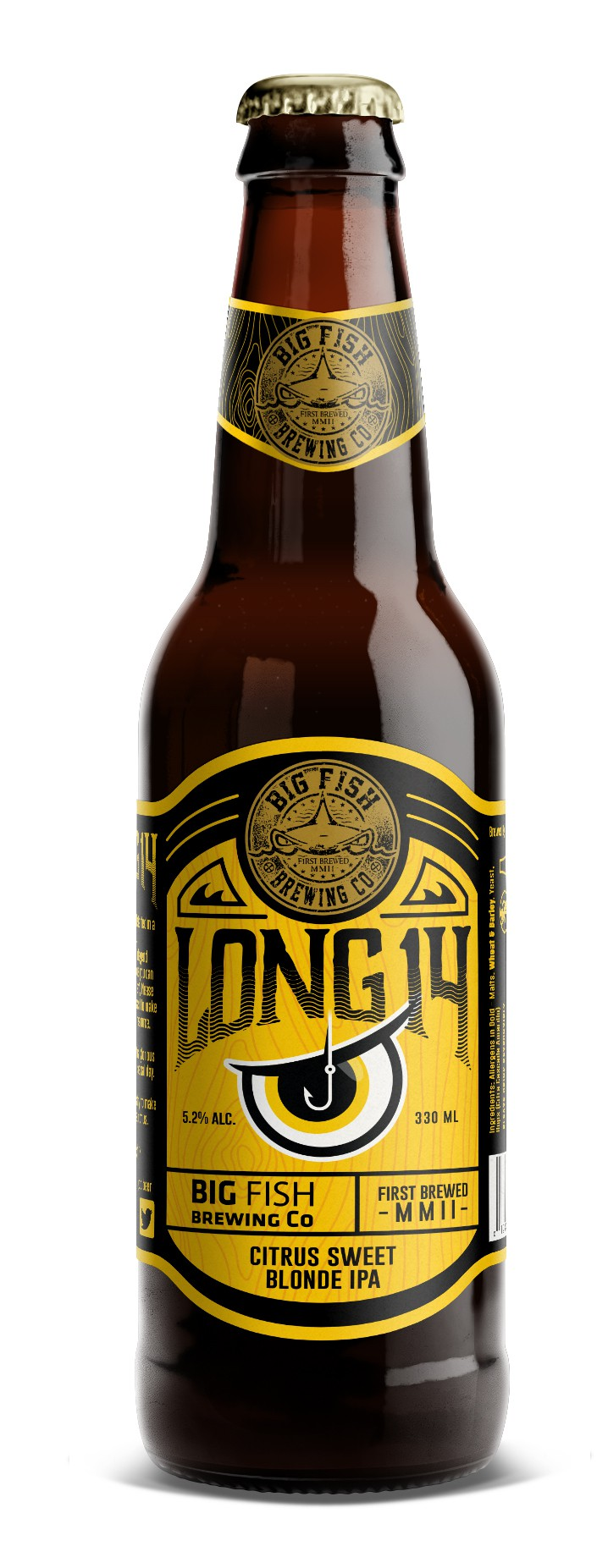 Big Fish Beer Labels