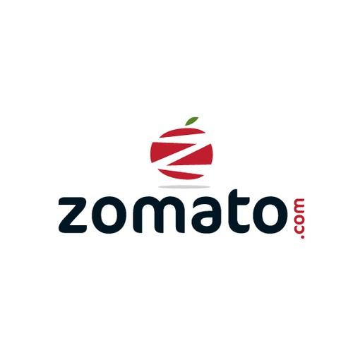 Logo for zomato