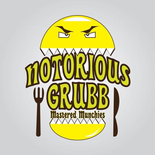 Bold Logo for Notorious Grubb