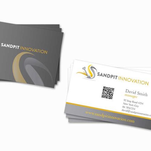 Sandpit Innovation needs a new stationery