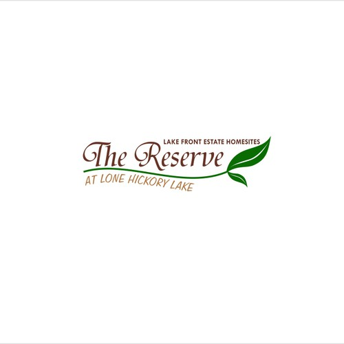 Create the next logo for The Reserve at Lone Hickory Lake