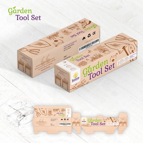 Garden Tool Set Box