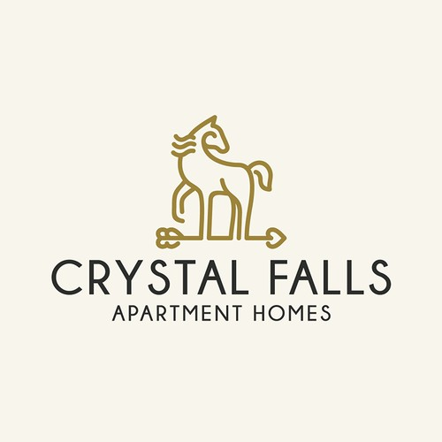 Wonderful logo for apartment homes