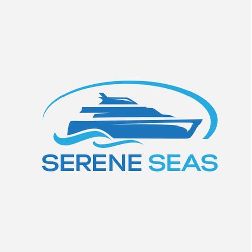 Bold logo for yacht