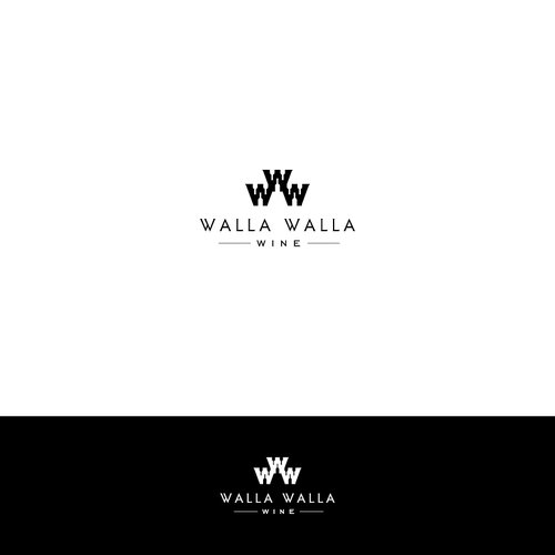 Create a two toned Wine themed Logo!