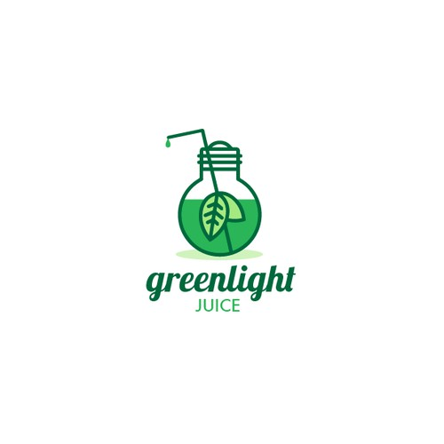 Logo for a juice company