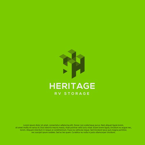 logo concept for heritage