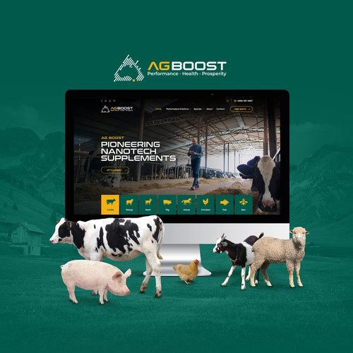 Website for Animal Supplements