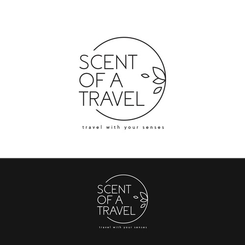 Scent of a Travel Logo