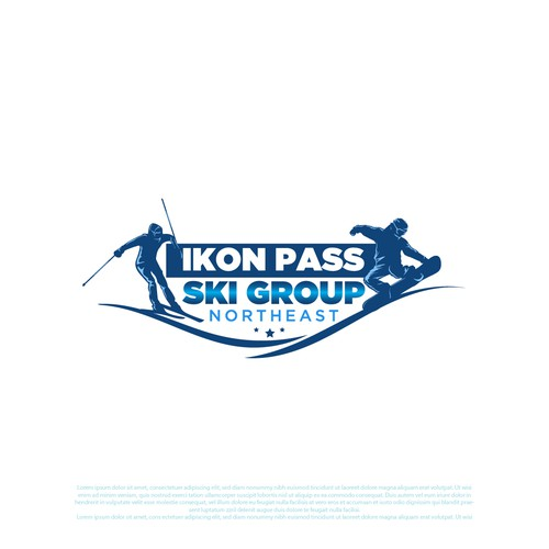 Ikon Pass Ski Group Logo