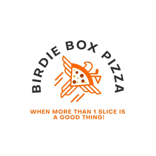Modern and fun logo concept for Pizza