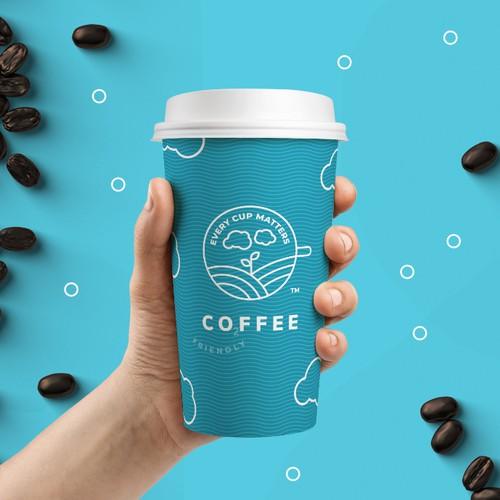 Coffee logo for CO2FFEE