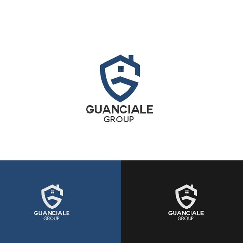 Sleek,commanding, ESTABLISHED real estate logo for Guanciale Group