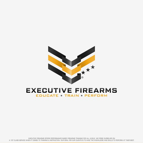 Logo design for Executive Firearms