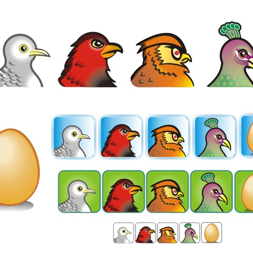 Success Pigeon needs fresh new icons