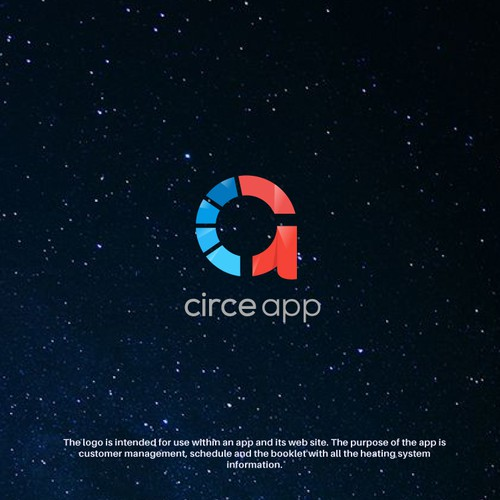 Beautiful catchy logo for a mobile app.