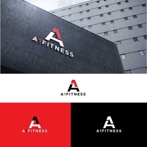 Serious & Simple Logo Concept for A1 Fitness Company