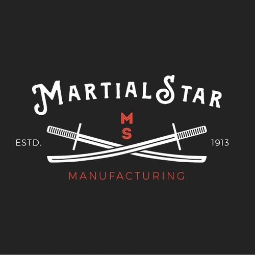 MartialStar - Vintage Logo Concept