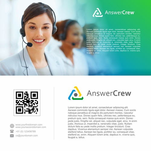 Logo Design for AnswerCrew