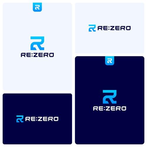 Letter RZ logo