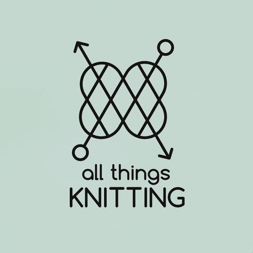 Logo concept for a knitting shop