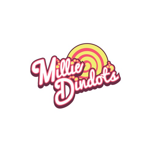 Fun colorful design for Millie Dindot's