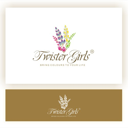 logo concept for twistergirls