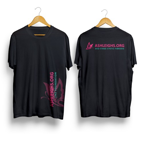 t-shirt design to support those at End Stage Cystic Fibrosis