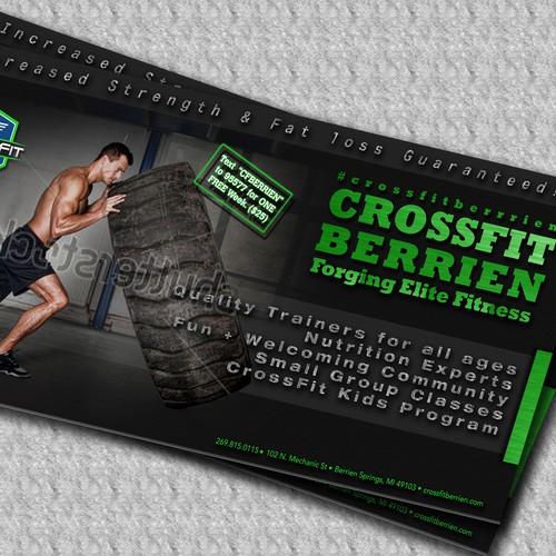 Create banner for CrossFit Berrien