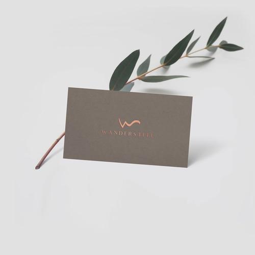 Luxury logo design for WANDERSTEEL