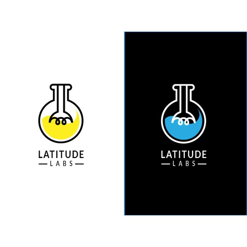 Clean logo for Latitude Labs
