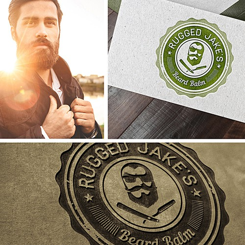 Men's Beard Balm Logo