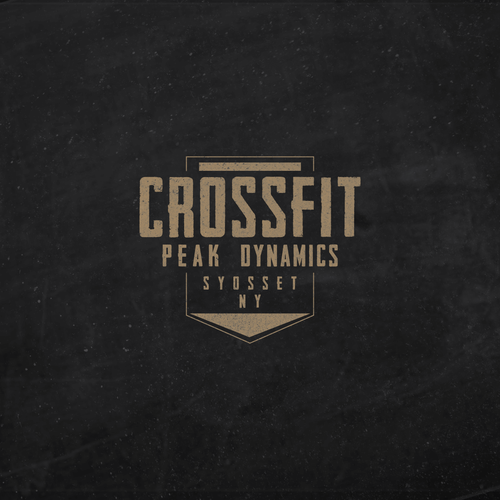 Simple and clean look for crossfit team.