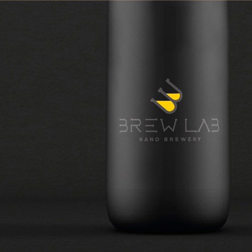 Create a modern logo for a high tech nanobrewery
