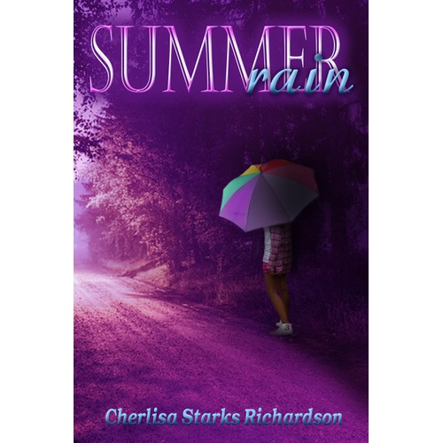 Create a winning book cover design for Summer Rain
