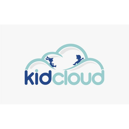 Dream up a fun one-of-a-kind logo for KidCloud!