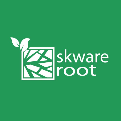Logo concept of a container farming business