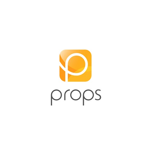 Create a simple yet fun logo for Props!