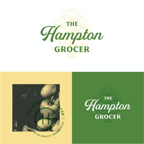 Logo for The Hampton Grocer