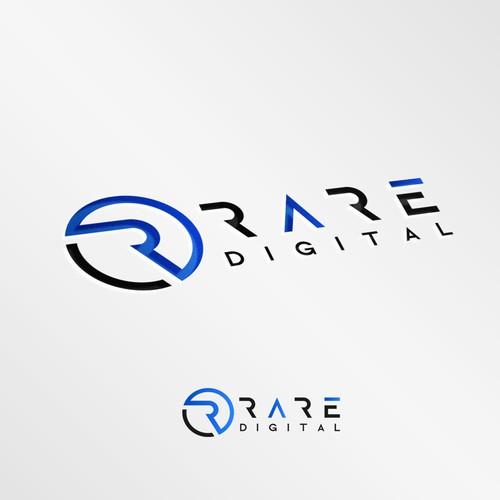 Logo design concept Rare Digital