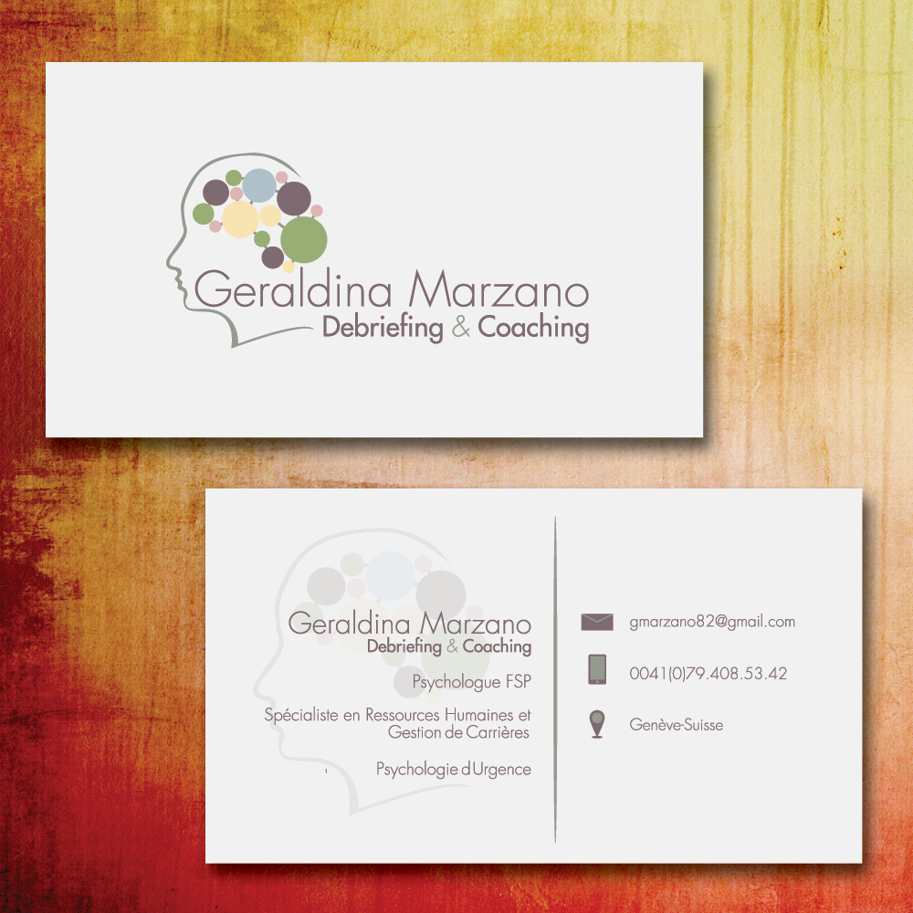 stationery for Geraldina Marzano - Debriefing & Coaching